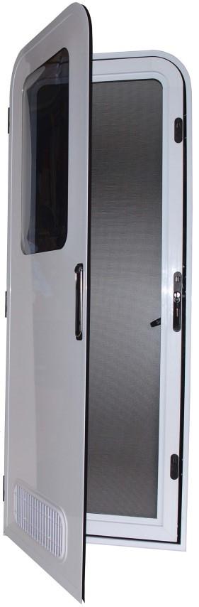 Camec Odyssey Premium Two Radius Caravan And Motorhome Door