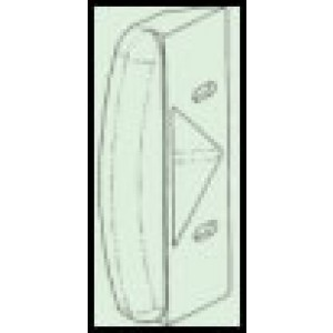 Camec door handle strike plate