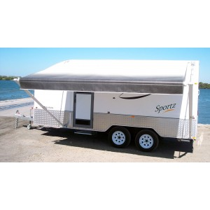 Aussie Traveller Sunburst Roll Out Awning