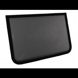 Custom Caravan Fixed D-Shape Windows - OzVan - Australian Made